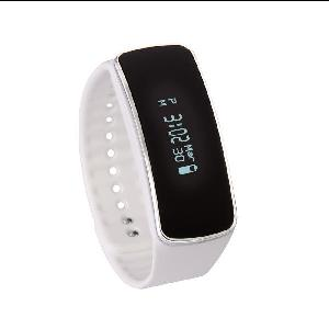 ZFIT ONYX B2 Smart Fitness Band - White - The ONYX B2 White Fitness band, tracks Steps, Sleep, Calories, Messages, Alarm and Reminders