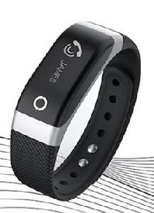 ONYXB3 HRSL Fitness Wristband with Heart rate Monitor - Silver