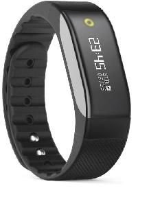 ONYXB3 HRBK Fitness Wristband with Heart rate Monitor - Black